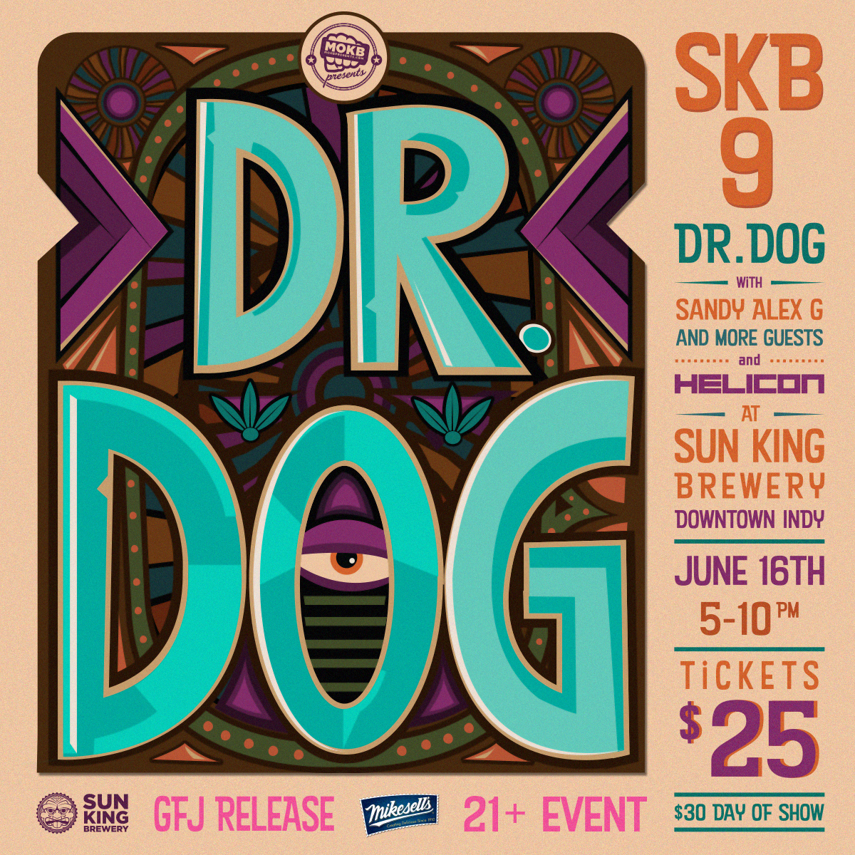 Nine Years of Beer by Sun King Brewery (feat. Dr. Dog) | Edible Indy