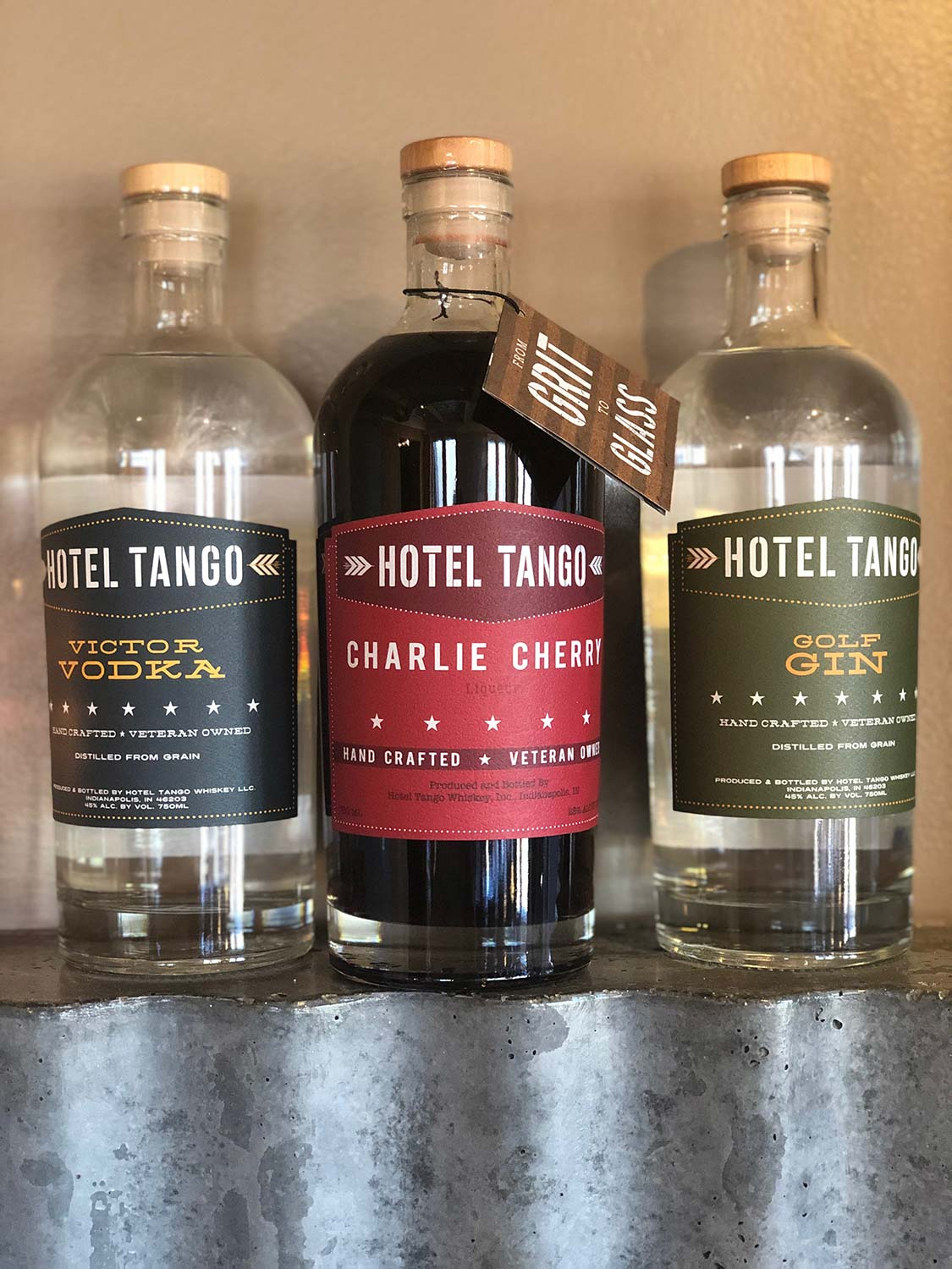 Dining and Drinking Together with Hotel Tango and Friends