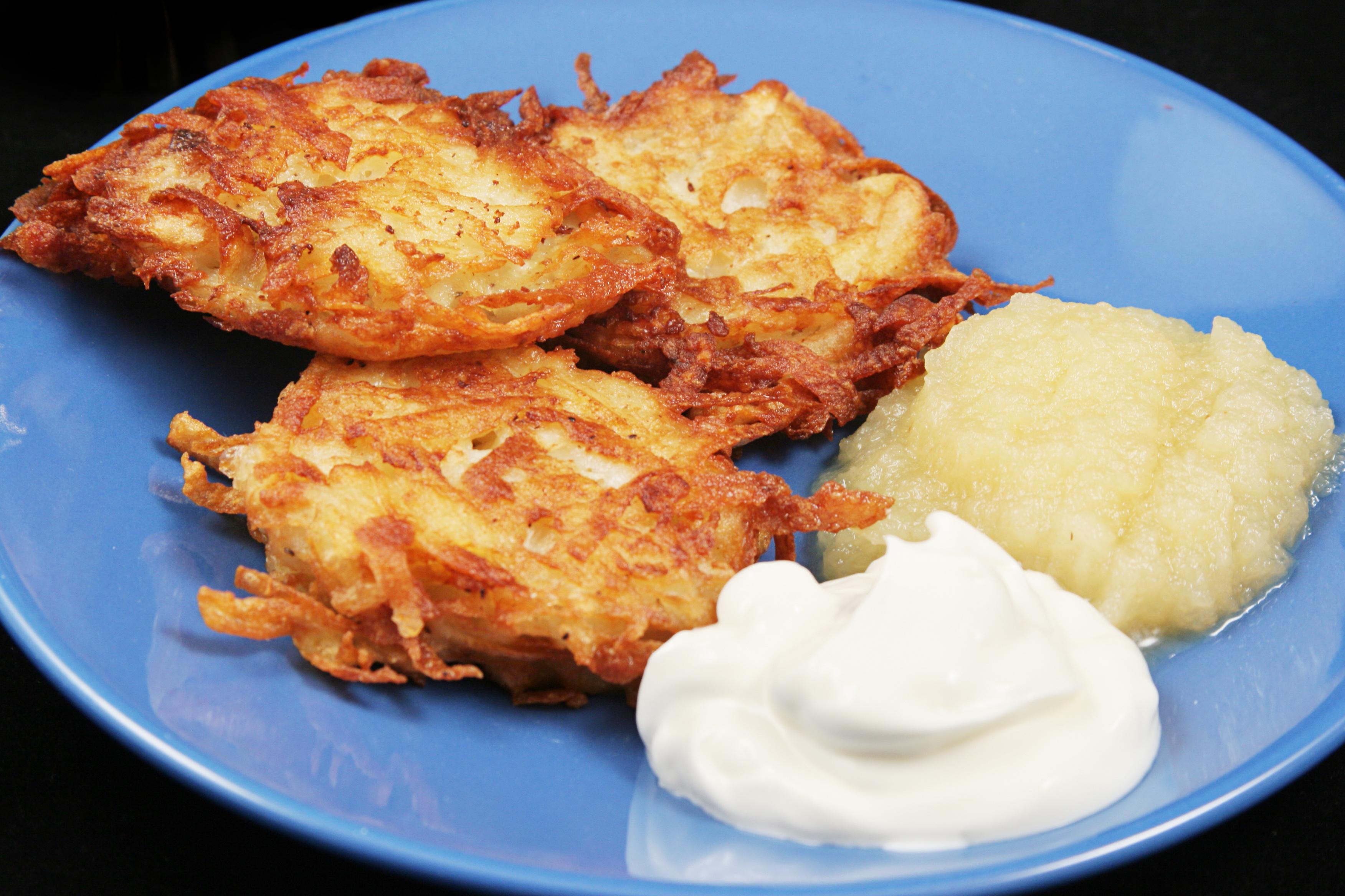 Sweet Potato & Celeriac Latkes Recipe   Edible Indy