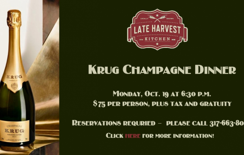 Krug Wine Dinner - Late Harvest Kitchen