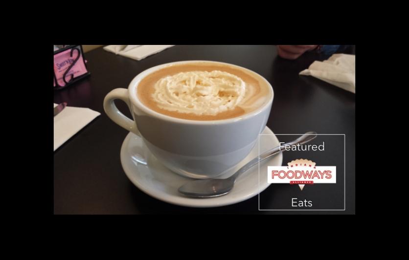 Indiana Foodways Alliance featuring JK's Pumpkin Spice Latte.