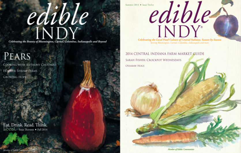 Edible Indy Covers
