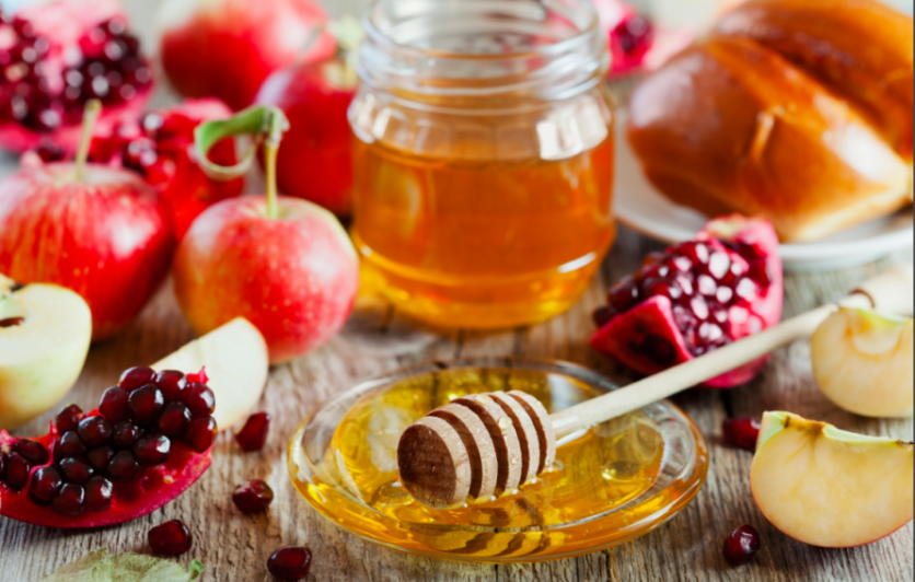 Honey is a staple food during the Jewish High Holidays.