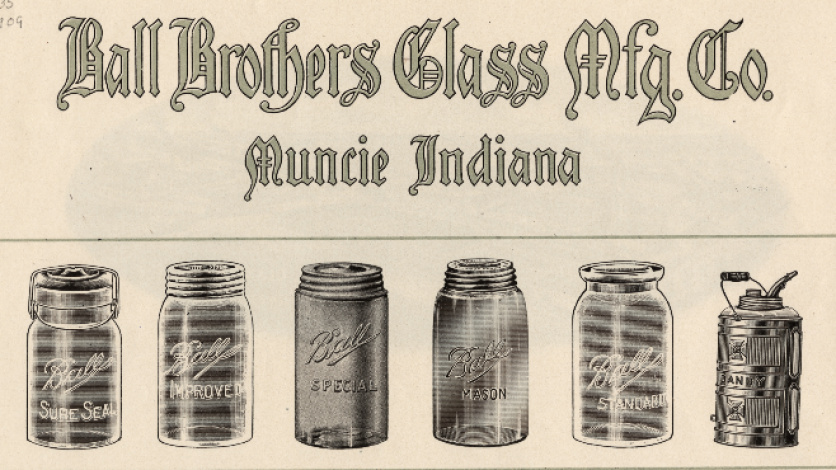 Indianas Glass Roots How A Bottle And A Jar Became Icons Edible Indy