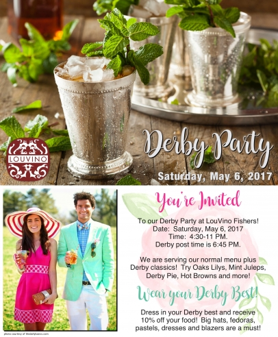 Derby Party at LouVino