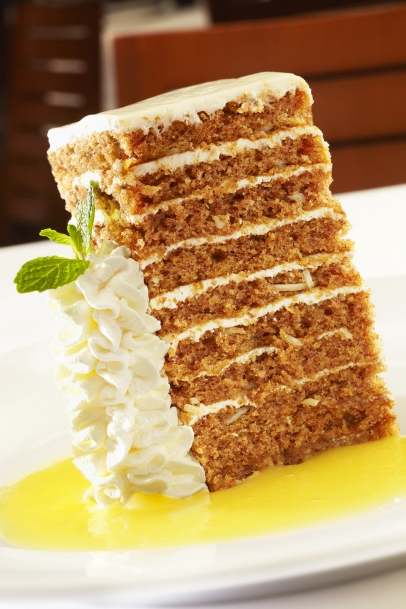 10 Layer Carrot Cake, Ocean Prime Indianapolis, national carrot cake day,