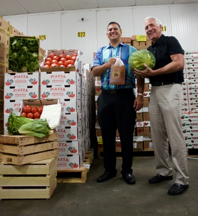 Local Wholesalers Give Support to Area Start-ups, Piazza Produce, Tiny FootPrint