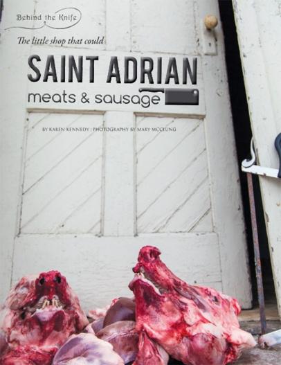Saint Adrian Meats & Sausage
