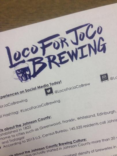 Loco For JoCo Brewing Paper