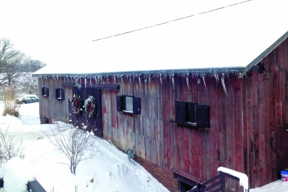 historic barn at traders point creamery