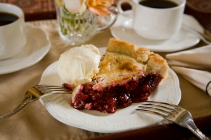 Famous Pie at the Berry Manor Inn