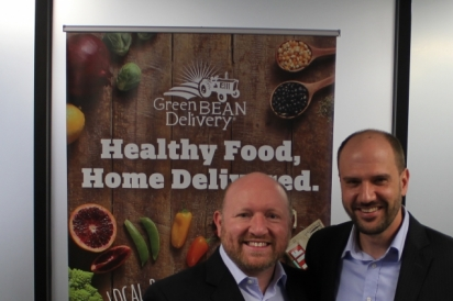 Shane Towne, CEO, Green BEAN Delivery and Matt Ewer