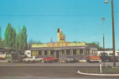 The Oasis Diner in the750s.