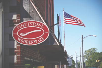 Whetstone Woodware is located in what was in the early 1900s Summe's Hardware.