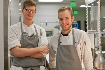 Executive Chef, Chase Hinton, and Creative Team Chef, Alex Stultz