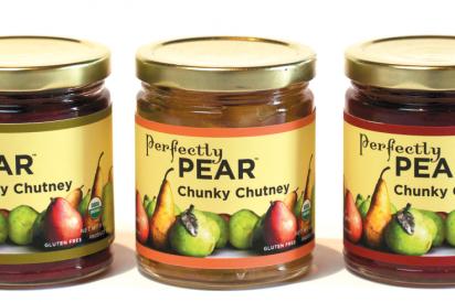 Organic fruit-based sauces and chutneys
