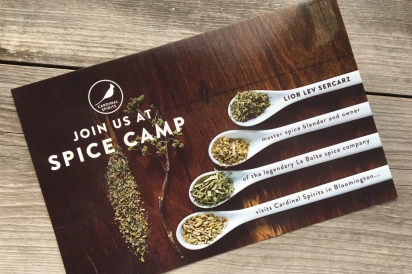 Spice Camp, Cardinal Spirits, Bloomington