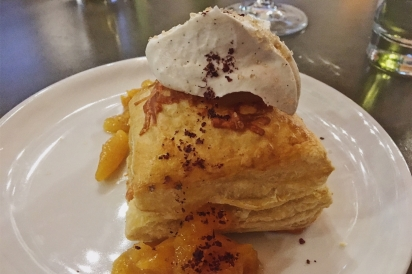 Apricot Puff Pastry with Schnabeltier Grueyere