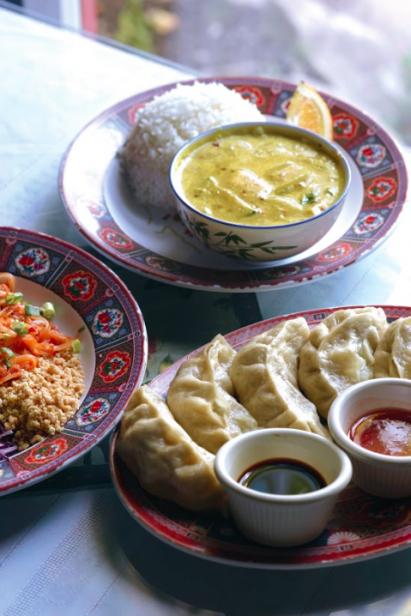 Food at Anyetsang's.