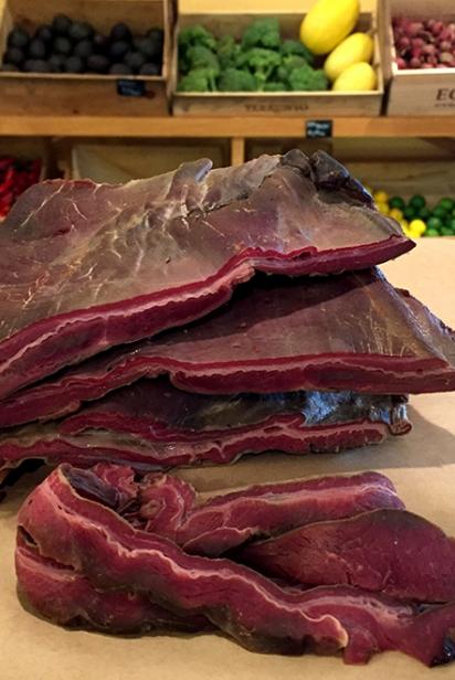 Elk Bacon
