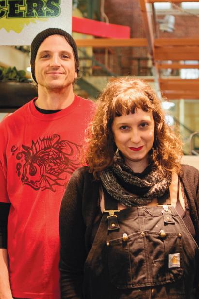 Corey and Laura Beatus