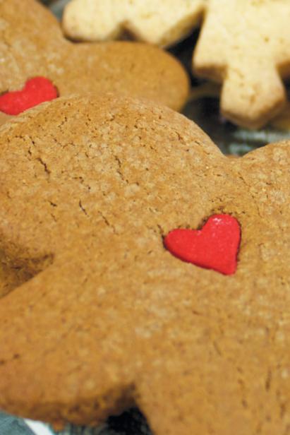 BeeFree Bakery's Gingerbread Cookies