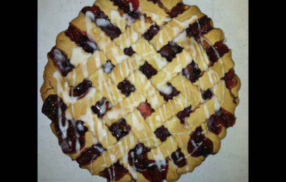 Raspberry Pie from Lisa's Pie Shop.