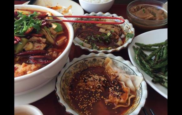 Szechwan Garden offers a wide variety of Asian eats. Photography courtesy of Szechwan Garden.