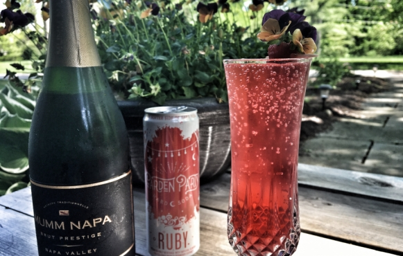 Ruby Limeade Fizz drink recipe
