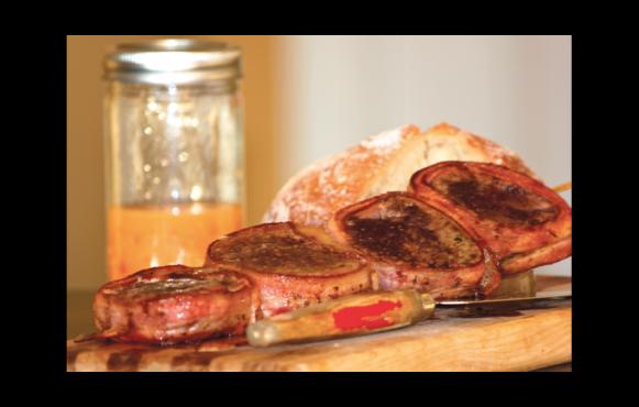 Bacon-Wrapped Tenderloin Medallions