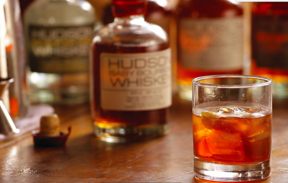 Hudson Whiskey Old Fashioned Cocktail