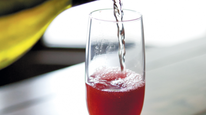 Elderberry Spritz