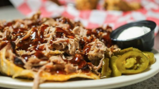 A Dish from Squealer's Award Winning BBQ