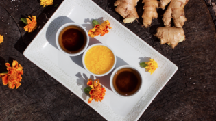 Herbal Remedies Ginger, Tumeric