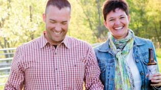 Upland President Doug Dayhoff and his wife, DeeDee