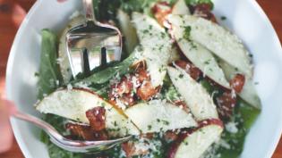 Pear and Parmesan Salad